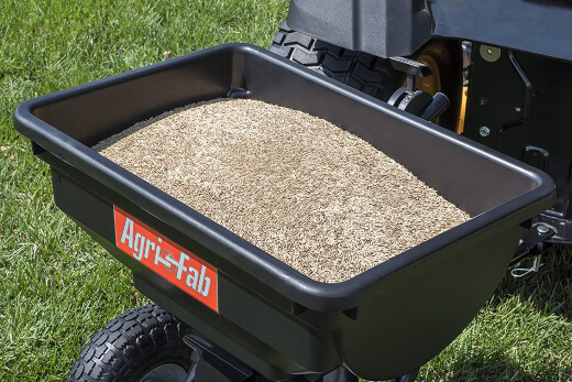 Overseeding is the process of adding new grass seed to your existing lawn.