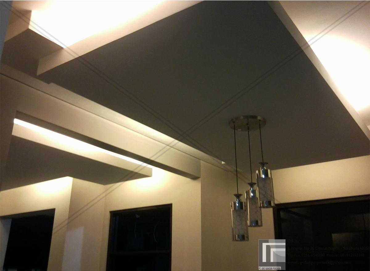 3d Fall Ceiling Wallpaper 16 Model Plafon Rumah Minimalis Modern Terbaru Rumah Impian