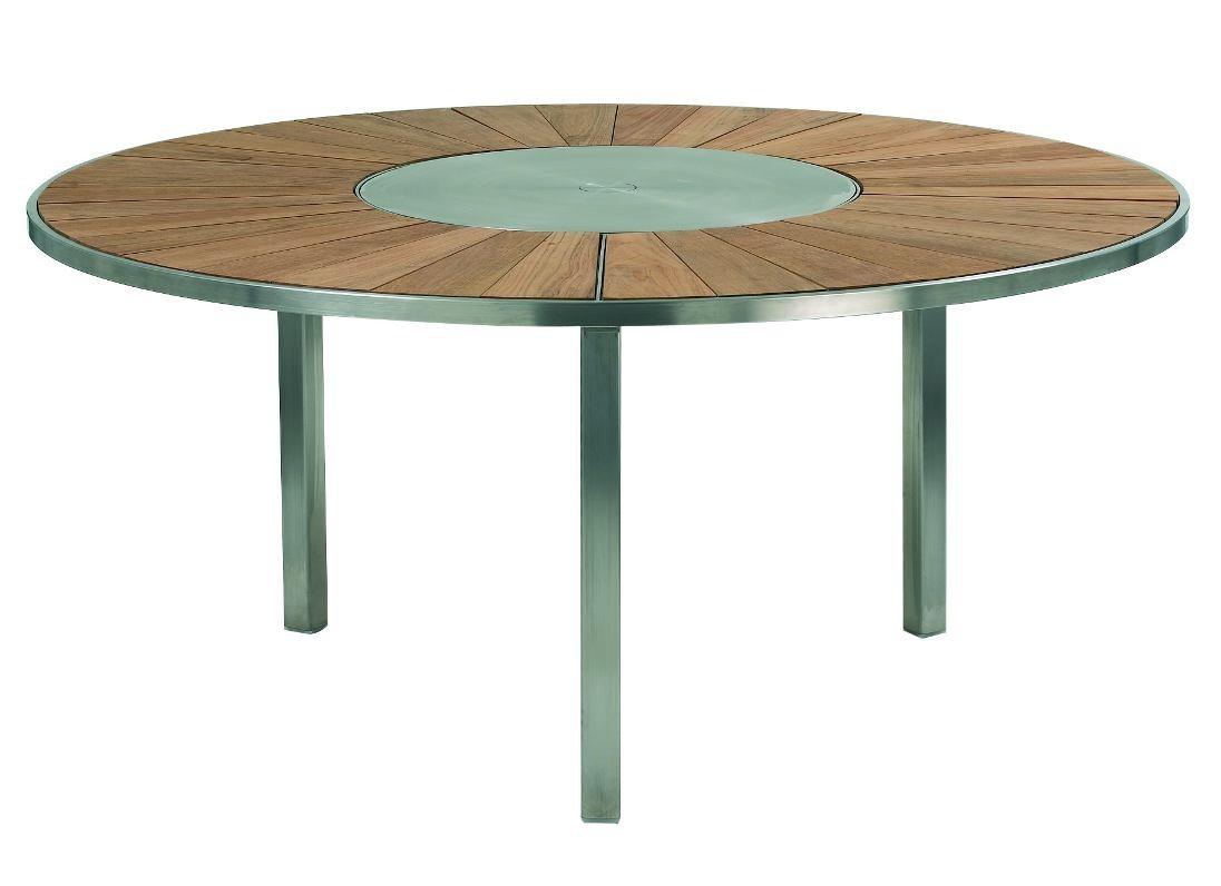 Salon De Jardin Inox | Table O Zon Royal Botania Sun Mobilier