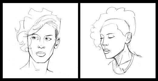 Adrienne Sketches