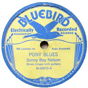 Sonny Boy Nelson: Pony Blues