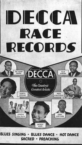 1938 Decca Cataloge