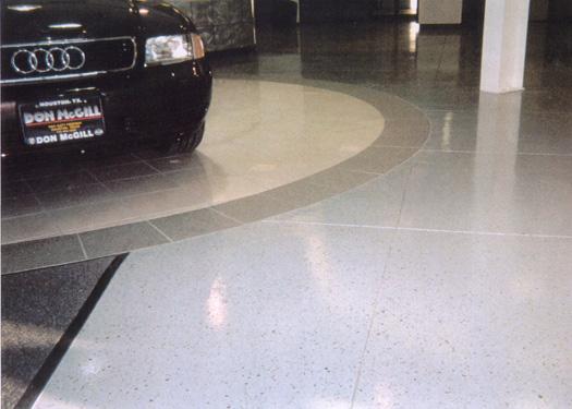Concrete Floors At Austin Dealerships Help Entice Buyers