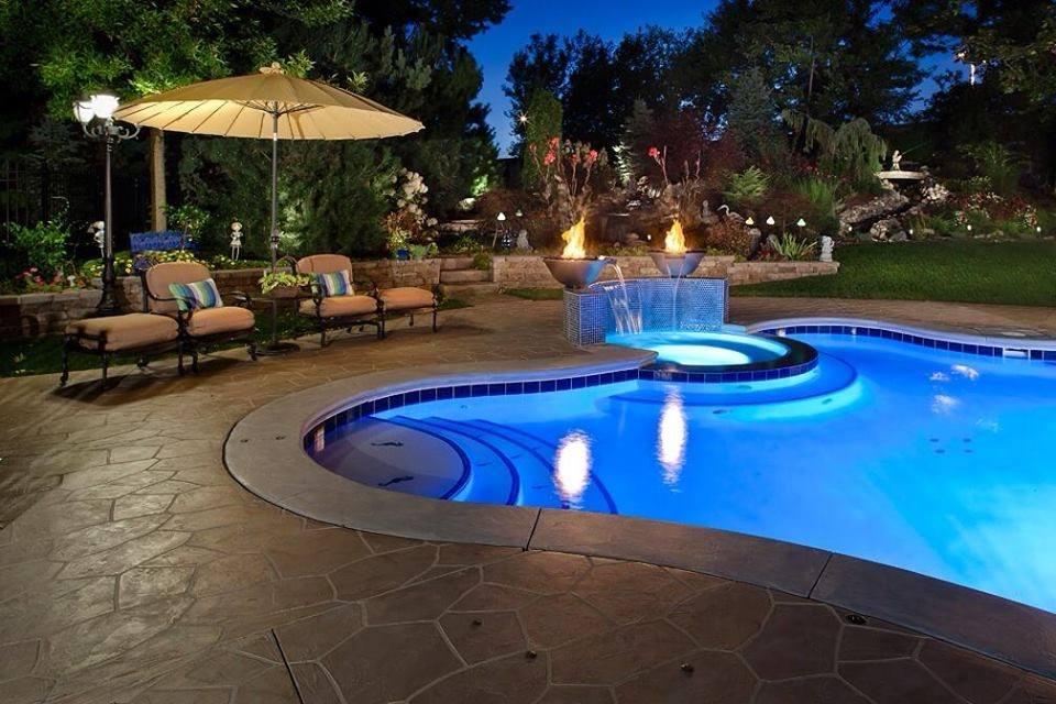 Pool Deck Patio Sidewalk Flooring Designs In Westlake Tx