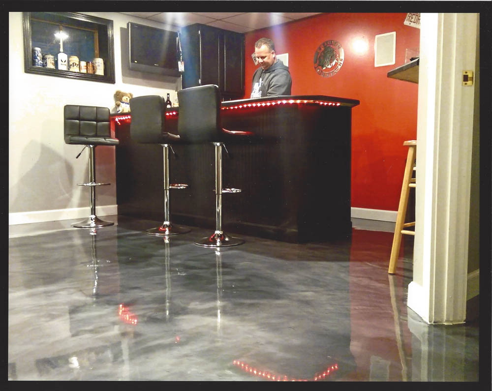 Garage Floor Coating Virginia Why You Should Install A Metallic Epoxy Floor In Your Retail Store