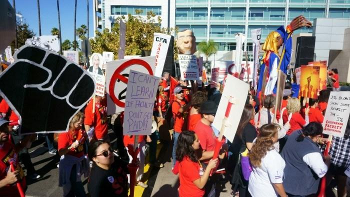 Tentative agreement postponing California State University faculty strike to be outlined