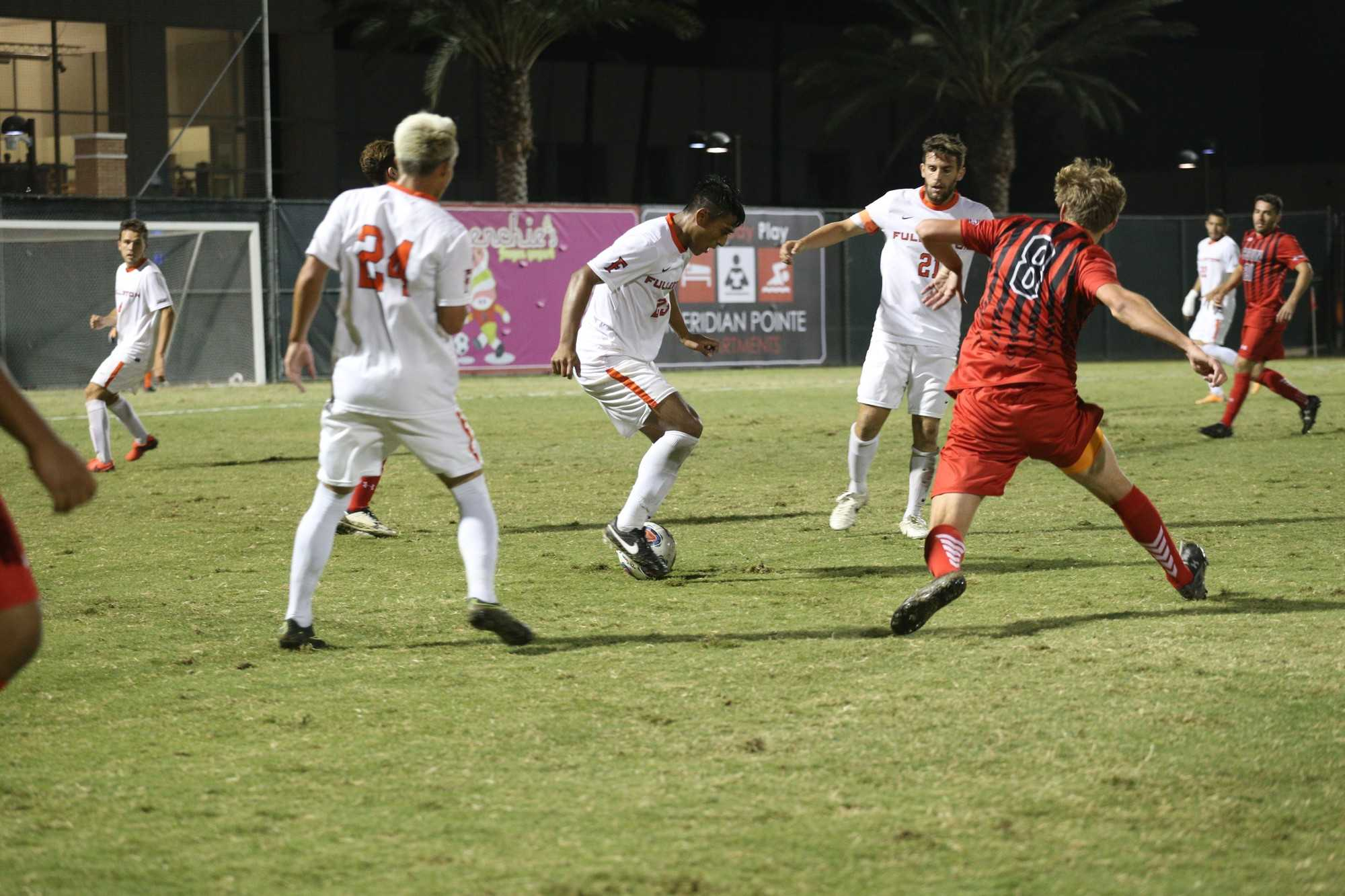 Men's soccer comes up short against UC Irvine | The Sundial