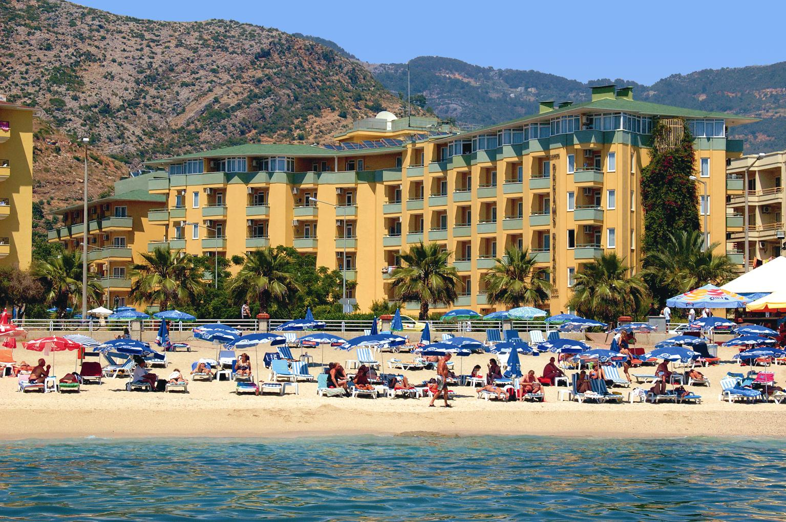 All Inclusive Turkije Prive Zwembad Hotel Kleopatra Dreams Beach All Inclusive In Turkse Rivièra