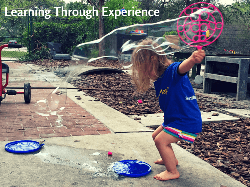 Learning Through Experience in Early Childhood Education at Sunflower Creative Arts