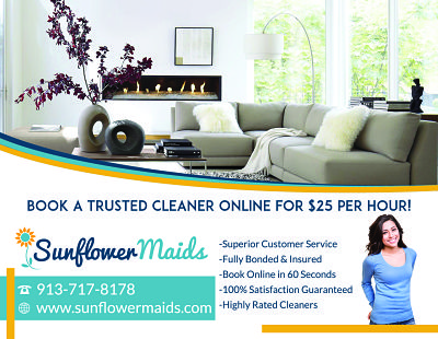 New House Cleaning Flyer - Sunflower Maids