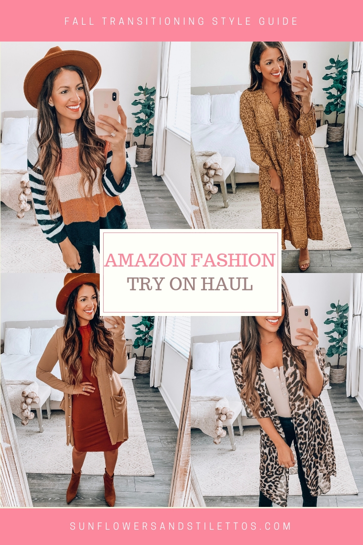 Amazon Fashion August Amazon Fashion Finds Fall Style Sunflowers And