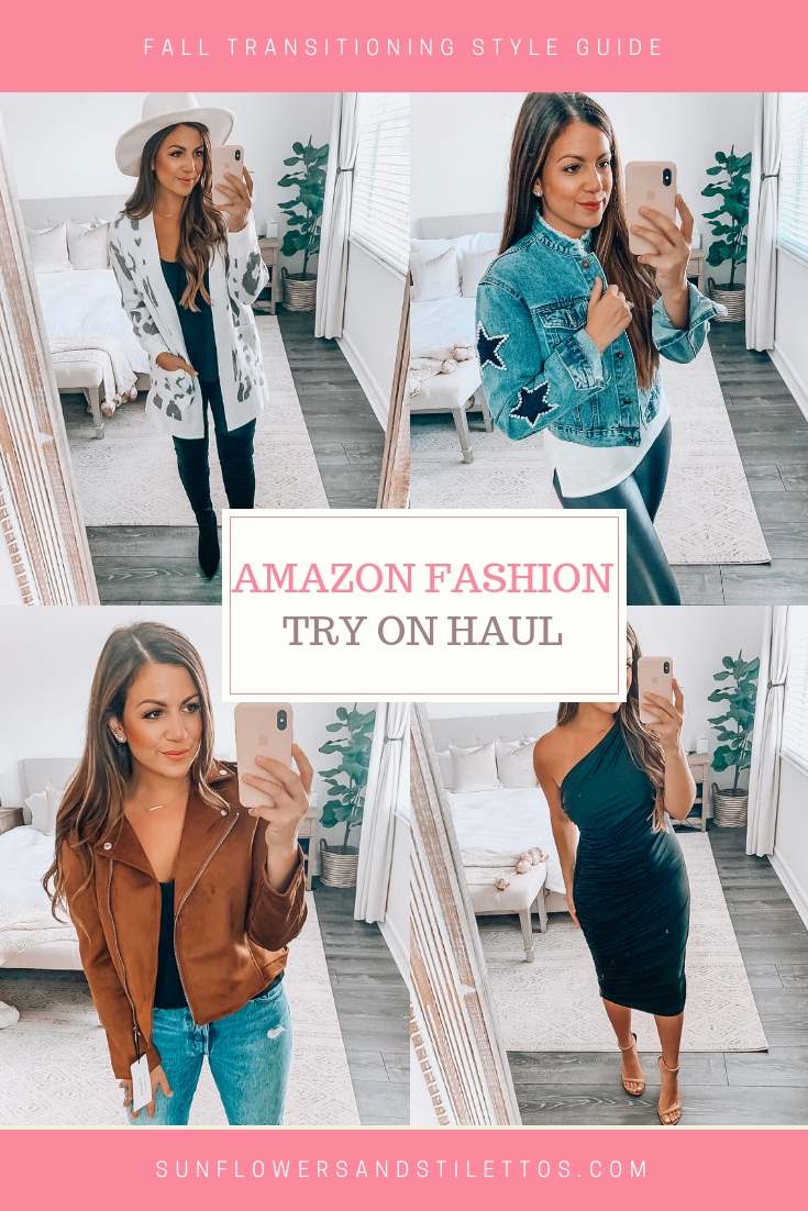 Amazon Fashion September Amazon Fashion Finds Fall Style Sunflowers And