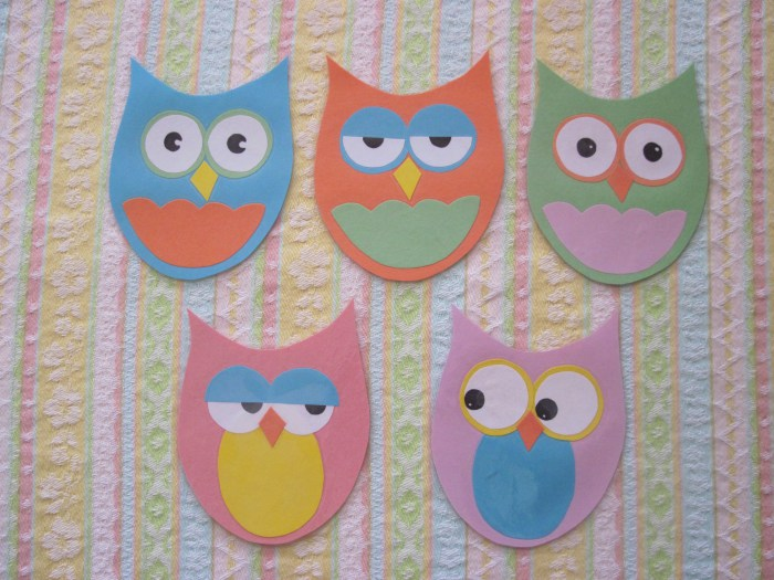 Owl Bulletin Board Printable cooltestinfo