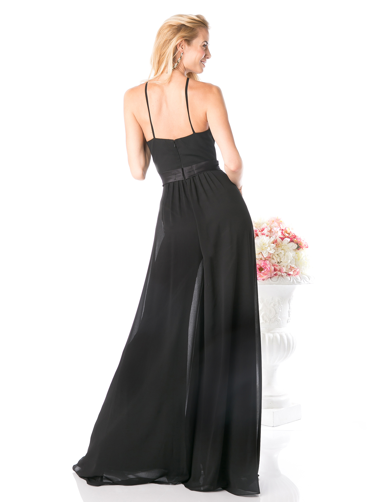 Cd Halter Halter Top Floor Length Jumper Sung Boutique L A