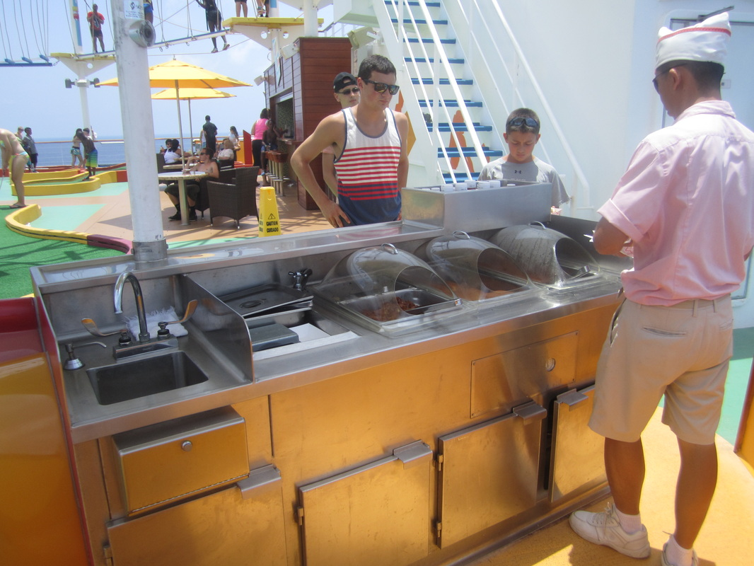 Carnival Magic Cucina Del Capitano Lunch Menu Sunkissed Adventures Family Travel Blog Real Family