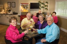 Enjoy good times with friends at Mountain Park Senior Living!