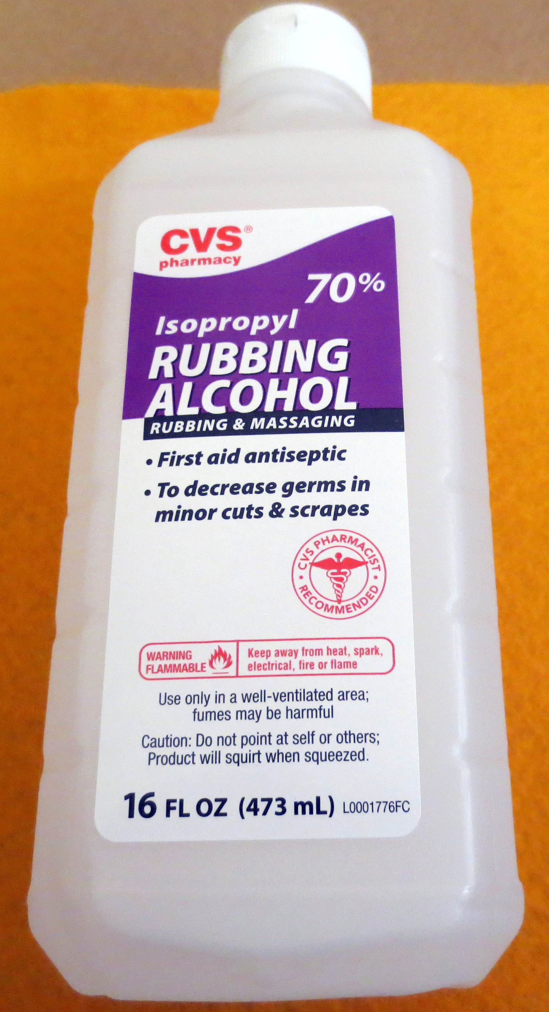 isopropyl alcohol cvs