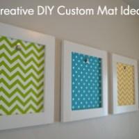 8 Creative DIY Custom Mat Ideas