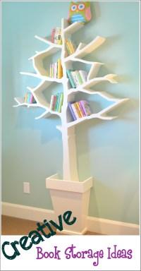 Creative Book Storage/Organization Ideas