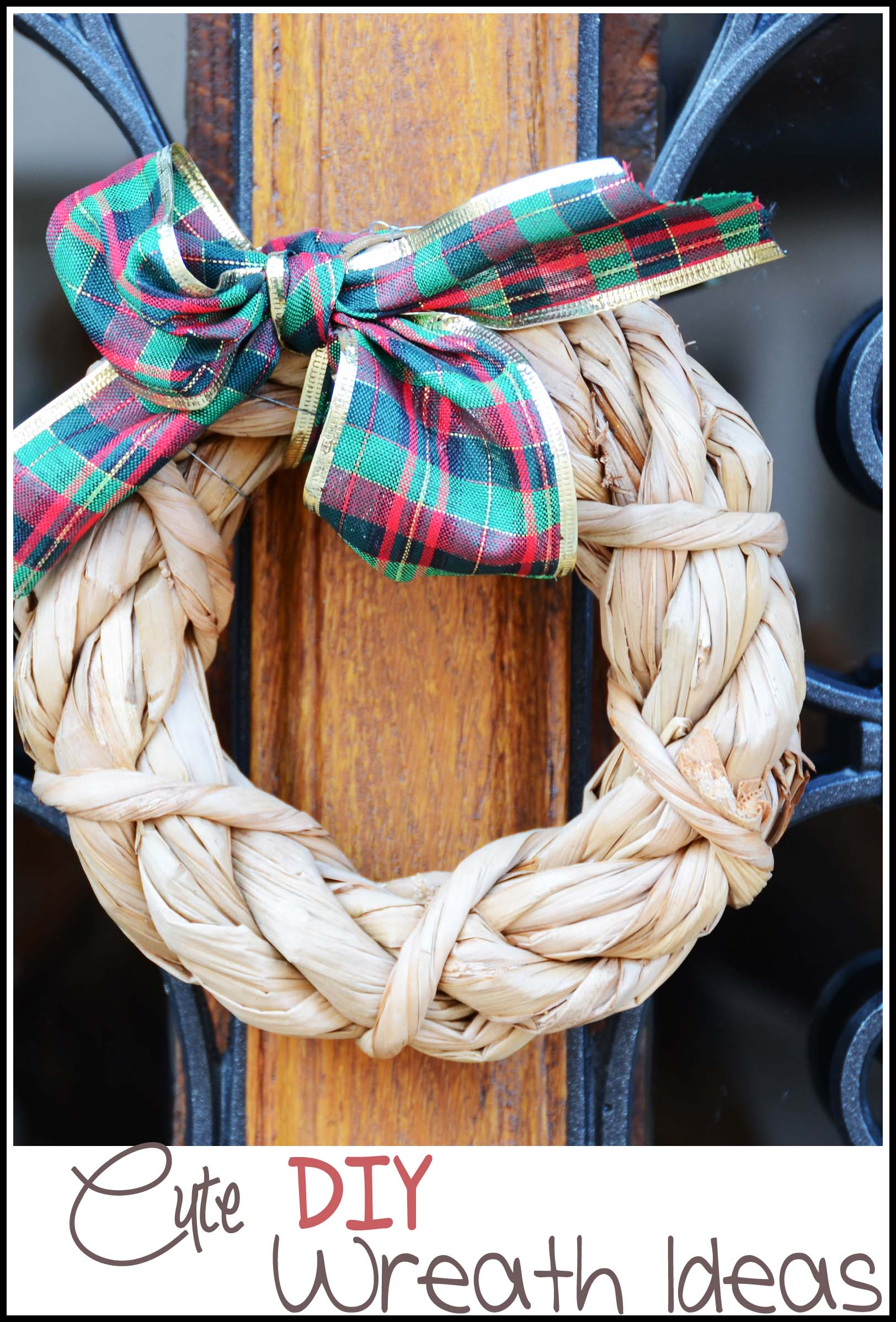 Diy Wreath Supplies Cute Diy Wreath Ideas