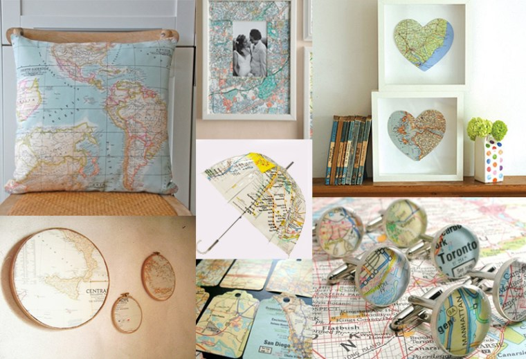 maps and interiors