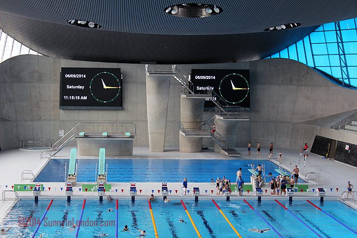 stratford olympic park swimming pool the secret to how london won the 2012 olympics sunny in