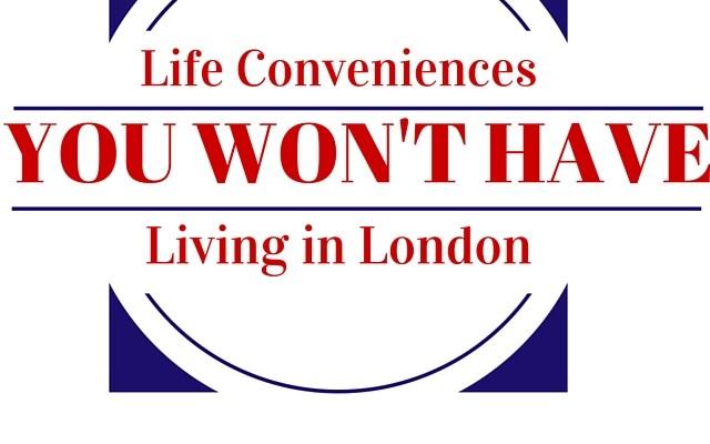 USA vs UK- 5 Life Conveniences You Won't Have!
