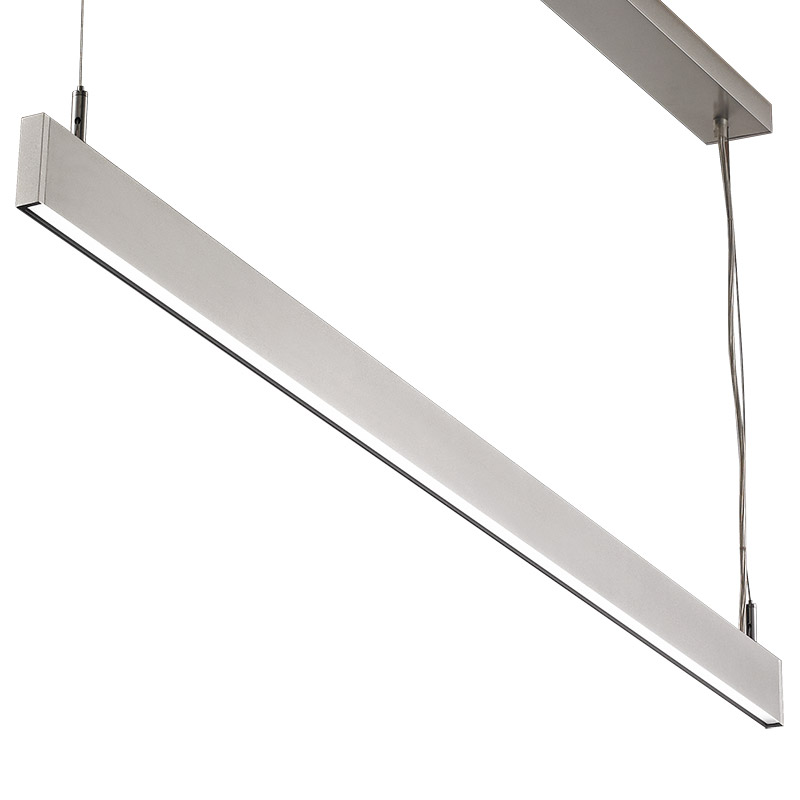 T5 Indirect Lighting Fixture Led Suspension Linear Lamp Aluminium Lighting Fixture