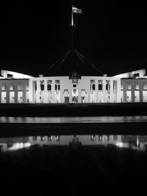 Das Parliament of Australia in Canberra