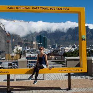 Ich Tafelberg Kapstadt
