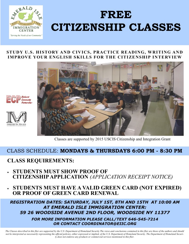 Citizenship-Class-flyer-July-2017