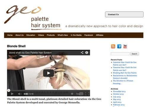 Geo Palette website