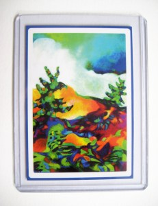 Two Trees - ACEO Art Card
