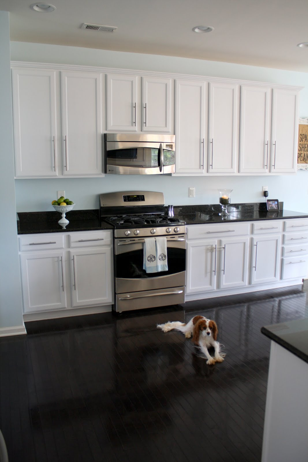Black Kitchen Cabinets What Color On Wall Charming Little Nest Sunny Slide Up