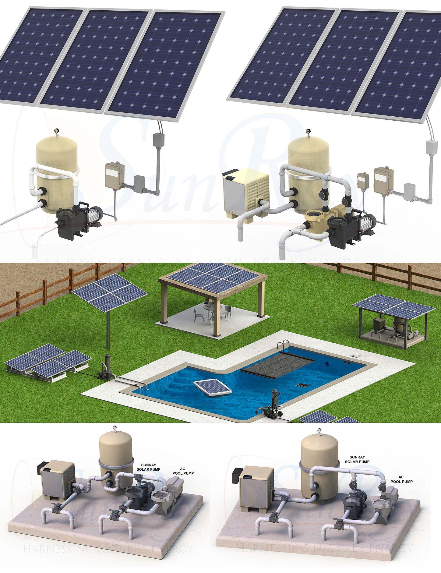 Pool Solarplane 4 X 8 Sunray Solar Pool Pumps Solar Powered Pool Pumps Residential