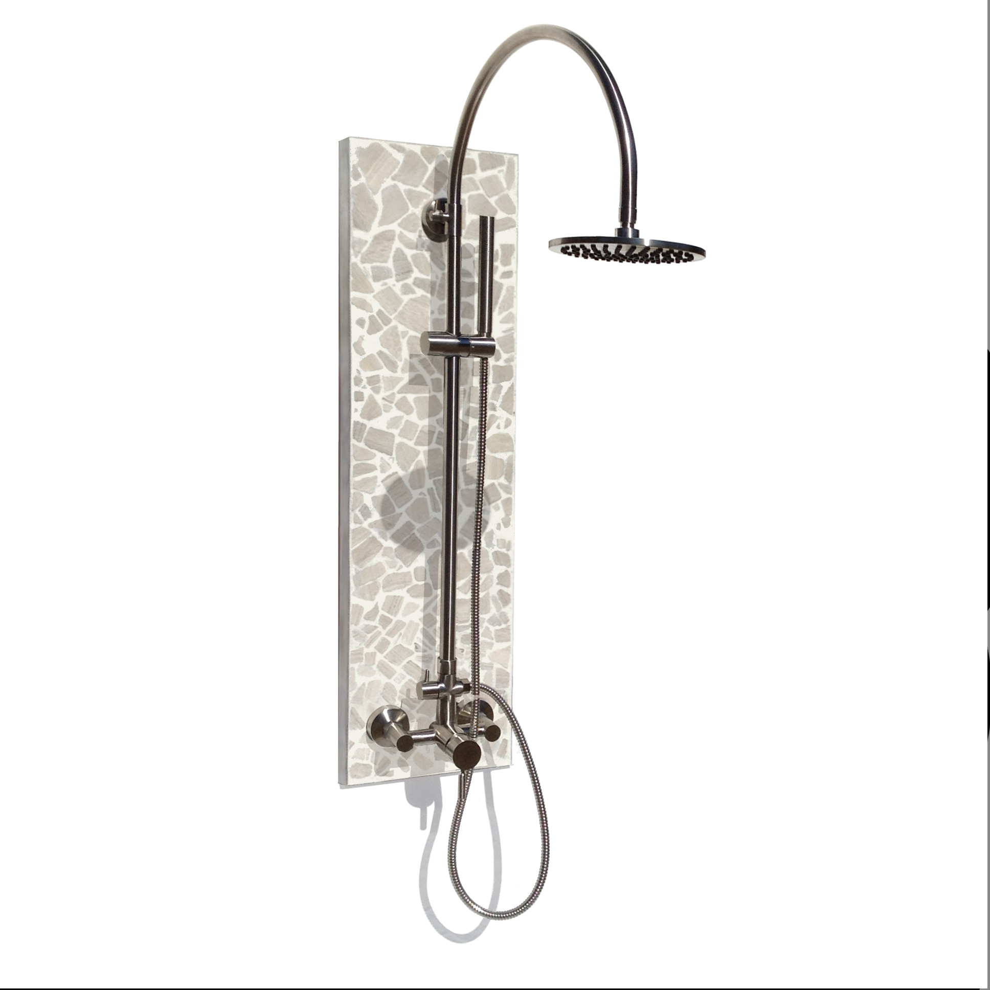 Industrial Outdoor Shower Solltile Beach Stone Outdoor Shower Plus Portable Hot