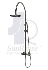 SR402 Thermostatic Valve Outdoor Shower  SunRinse Outdoor ...