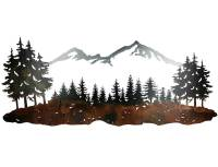 SMW324 Wall Art Sisters Mountain Landscape - Sunriver ...