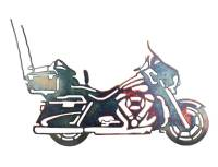 SMW086 Custom Metal Motorcycle Wall Art Ultra Classic ...
