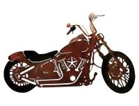SMW117 Custom Metal Motorcycle Wall Art Night Train ...