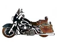 SMW126 Custom Metal Motorcycle Wall Art HD Classic ...
