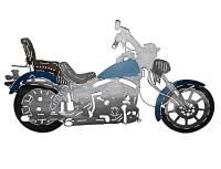 SMW422 Custom Metal Decor Shovelhead Motorcycle Wall Art ...