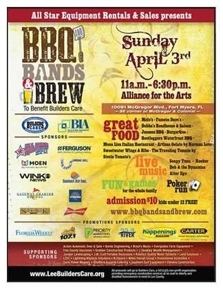 BBQ Bands  Brew 2016 \u2022 Sunset Air and Home Services - bbq benefit flyers