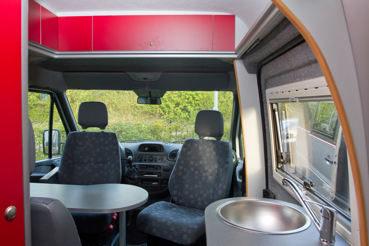 Interieur Buscamper Interieur Sunset Campers