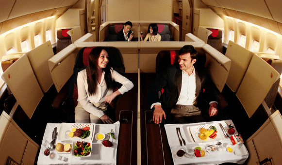 Cheapest way to fly first class