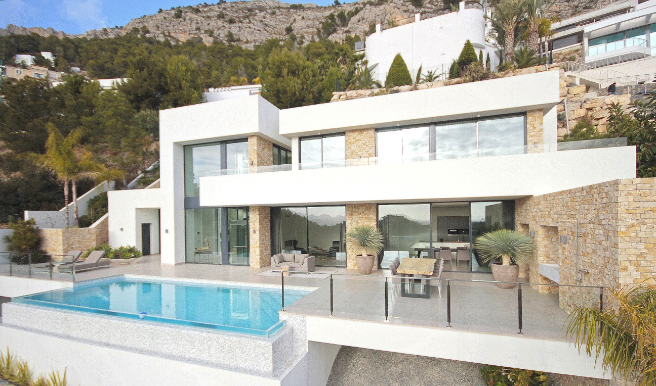 Dan Küche Arbeitsplatte Basin New Build In Altea For Sale In Alicante - Spanish Casa Properties