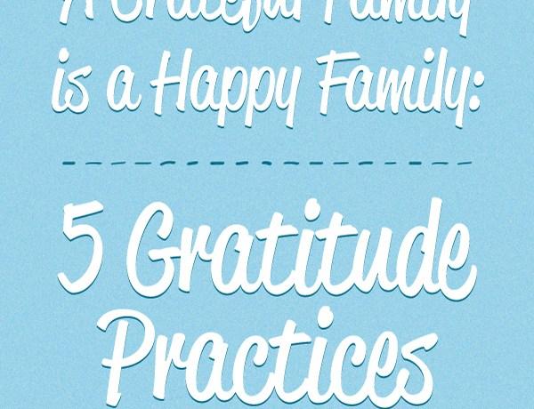 5 Gratitude Practices