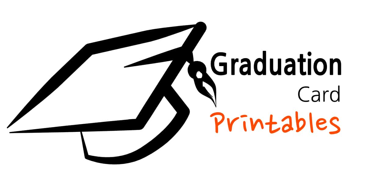 Graduation Card Printables - Sunshine and Rainy Days