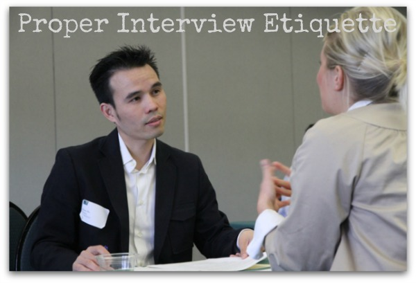 Job Interview Etiquette for Women