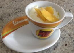 Mandarin Coconut Yogourt